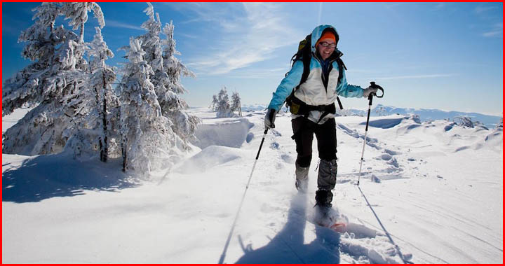 is snowshoeing fun?