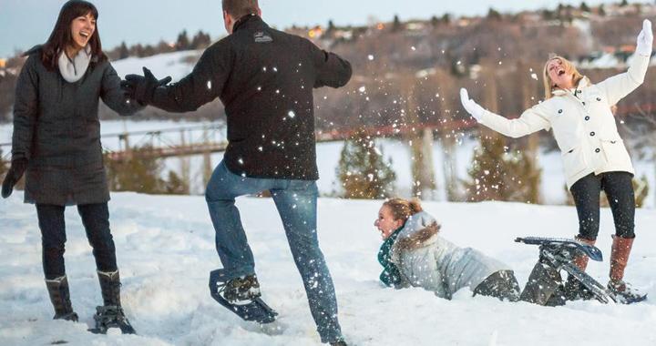 beginners snowshoeing guide - snowshoeing tips