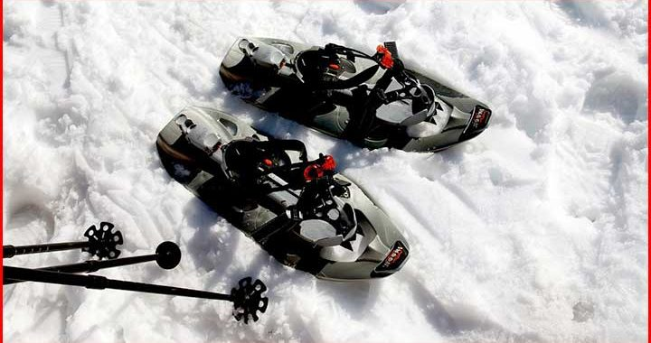how pick snowshoes for heavy weights