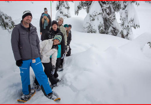 best places to snowshoe - mt. seymour