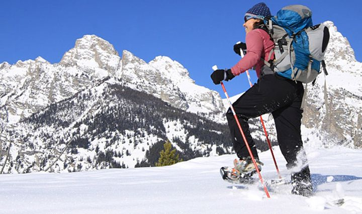 beginners snowshoeing guide - best places to snowshoe