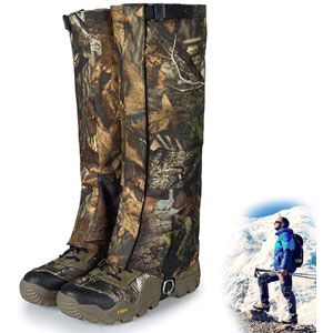 Hunting Leg Gaiters Waterproof Hiking Boot Gaiters for Men and Women
