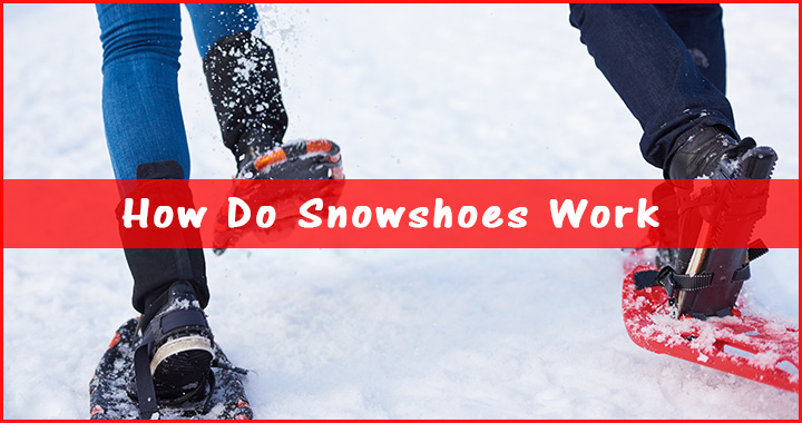 How do snowshoes work?