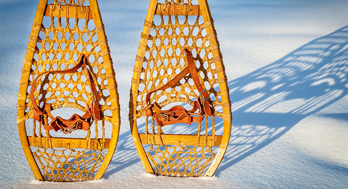 Vintage Custom Made Snowshoes