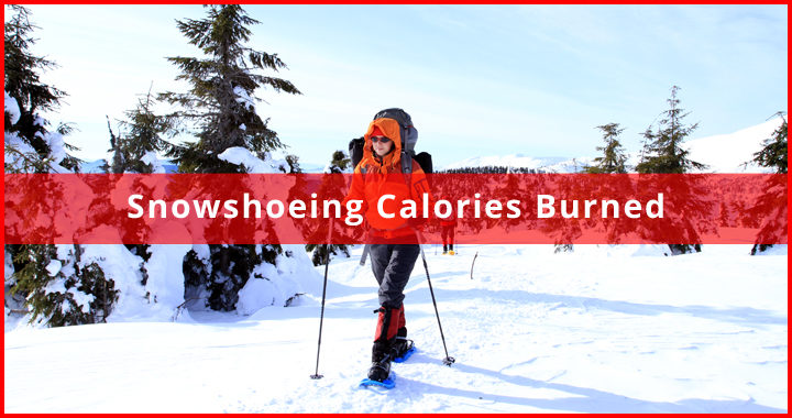 snowshoeing calories burned