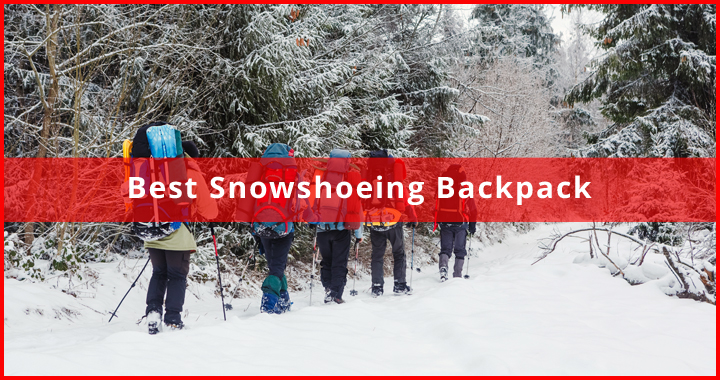 best snowshoeing backpack
