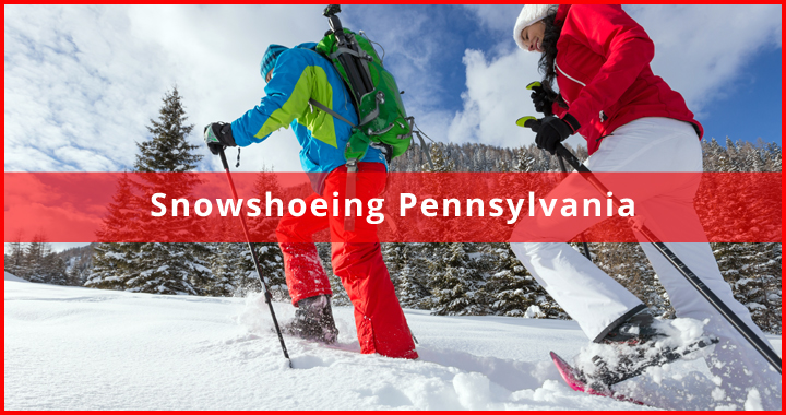 snowshoeing pennsylvania featured
