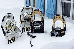 snowshoes weight range