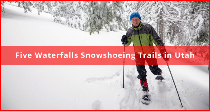featured snowshoeing trails in utah